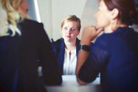 Συνέντευξη πρόσληψης σε μια μικρή επιχείρηση